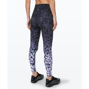 "lululemon Align Yoga Pant 28"" in Nightfall Blossom"